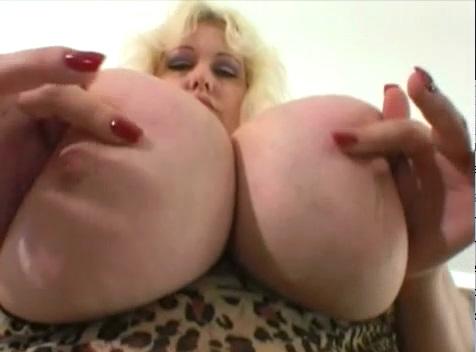 Vintage Blonde with Huge Tits