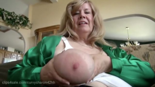 Busty BBW Mature, Breastfeeding Verbal