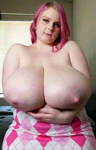 Cassie Opia's Gigantic Tits